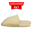 Travel Slippers Twist Pillow 2x1
