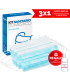 Mask Domestic Sanitary Kit 3x1 GIFT disinfectant gel