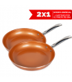 Master Copper pan 2x1