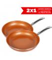 Sarten de cobre Master Copper 2x1