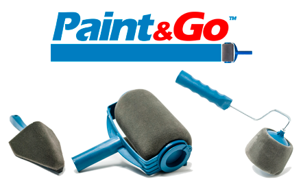 ROLLER TO PAINT PAINT & GO
