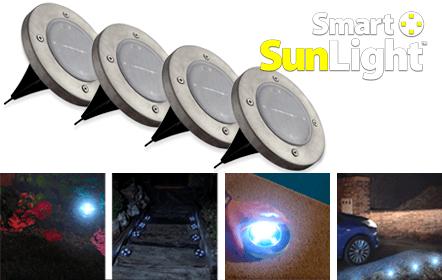 LUZ SOLAR AO AR LIVRE SMART SUNLIGHT