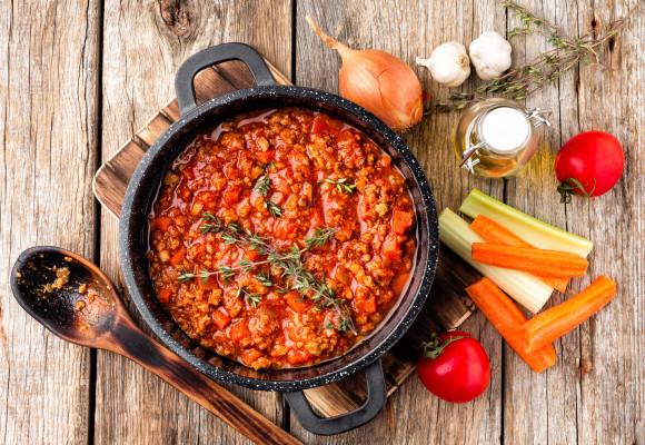 La auténtica salsa boloñesa: receta fácil y deliciosa