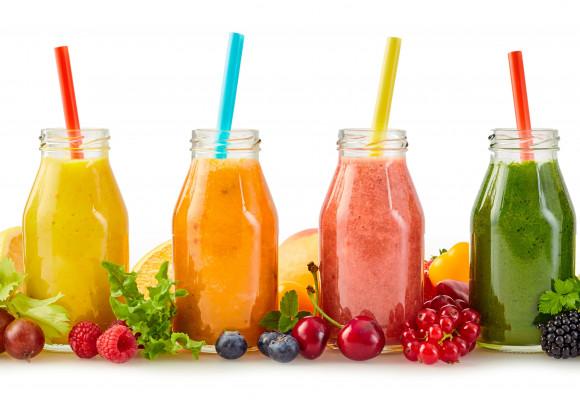 Los mejores zumos con frutas y verduras para preparar en casa
